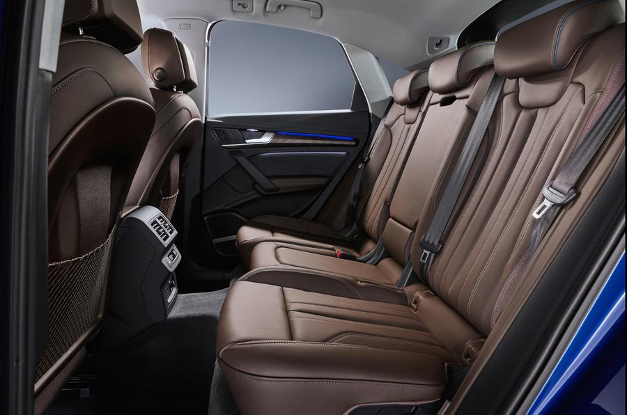 Audi Q5 Sportback 2020 official images - rear seats