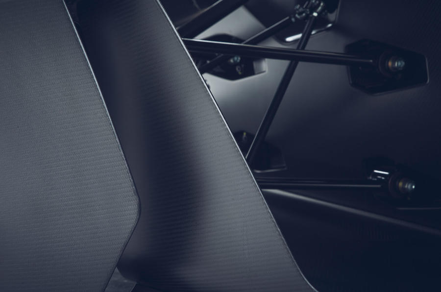 BAC Mono R carbonfibre feature - wing details