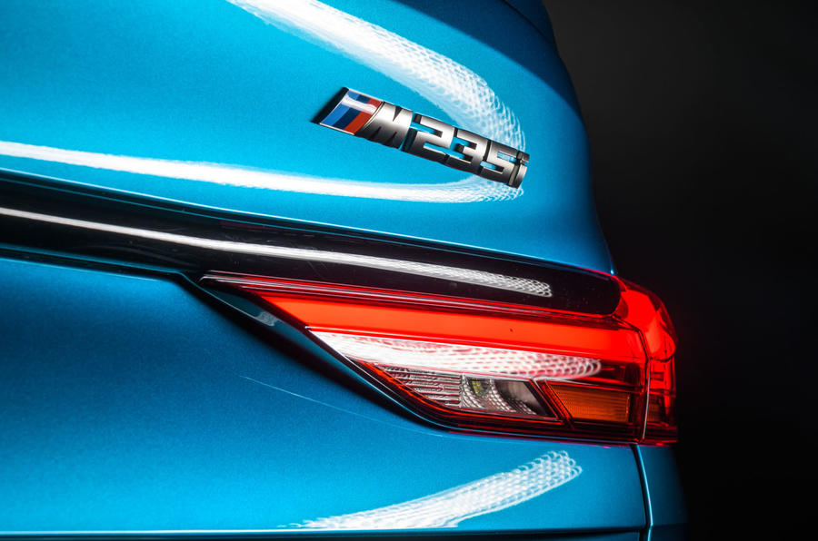 BMW 2 Series Gran Coupé studio reveal - rear badge