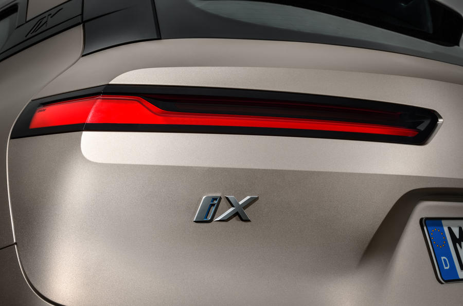 BMW iNext official images - rear lights
