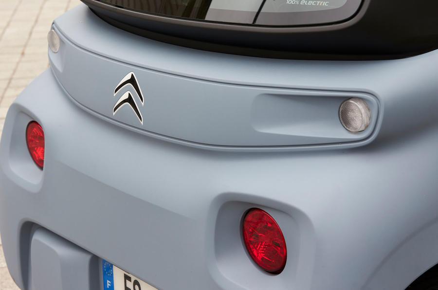 Citroen Ami (LHD) 2020 UK first drive review - rear lights