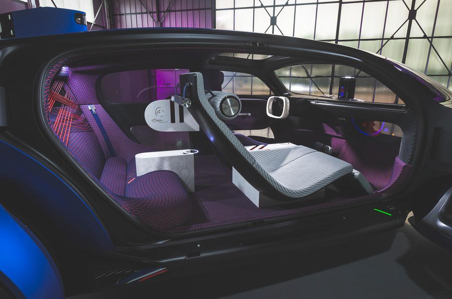 Citroen 19_19 concept prototype drive - cabin