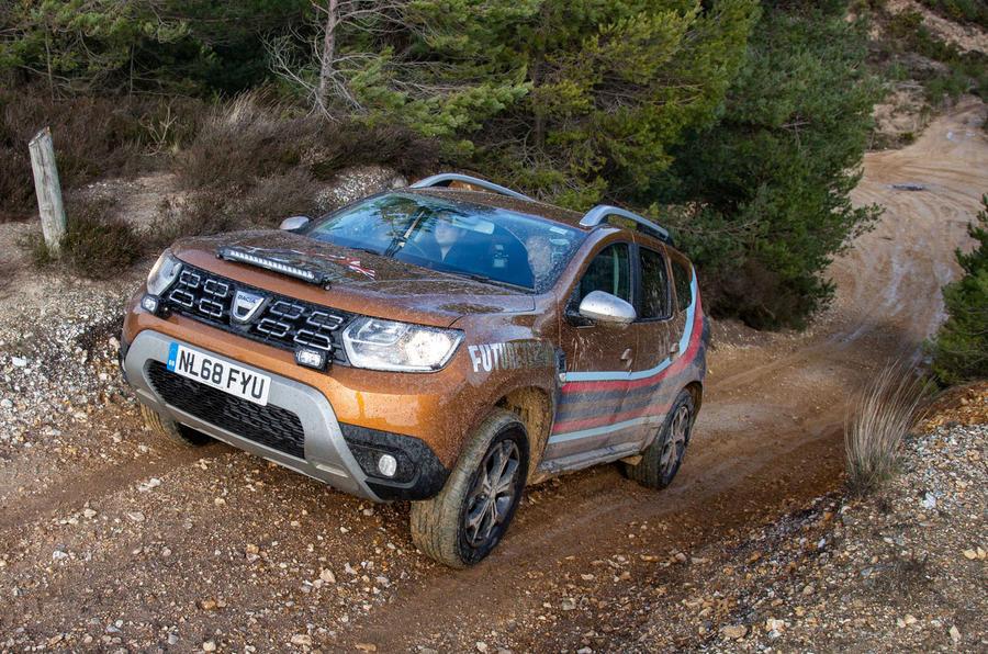 Dacia x Future Terrain - climbing