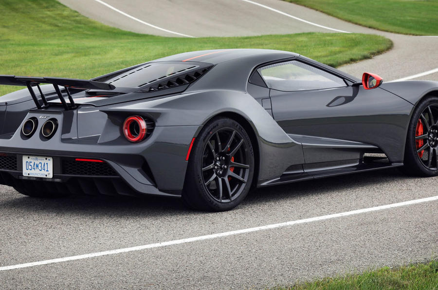 Ford GT Carbon Series officially revealed - static rear