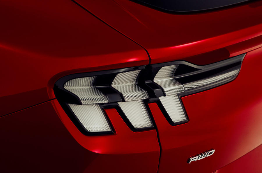 Ford Mustang Mach-E 2020 first ride - rear lights