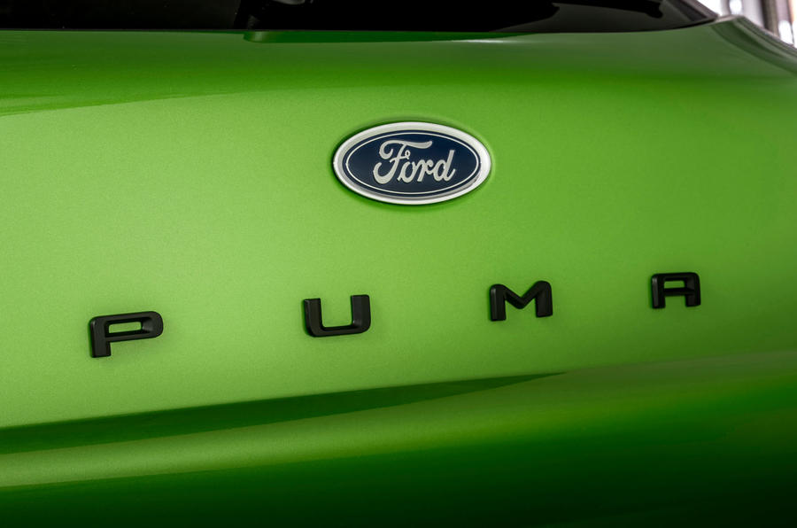 Ford Puma ST official images - rear badge