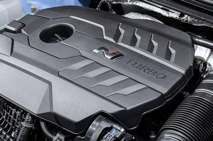 Hyundai i30 N 2020 facelift official images - engine