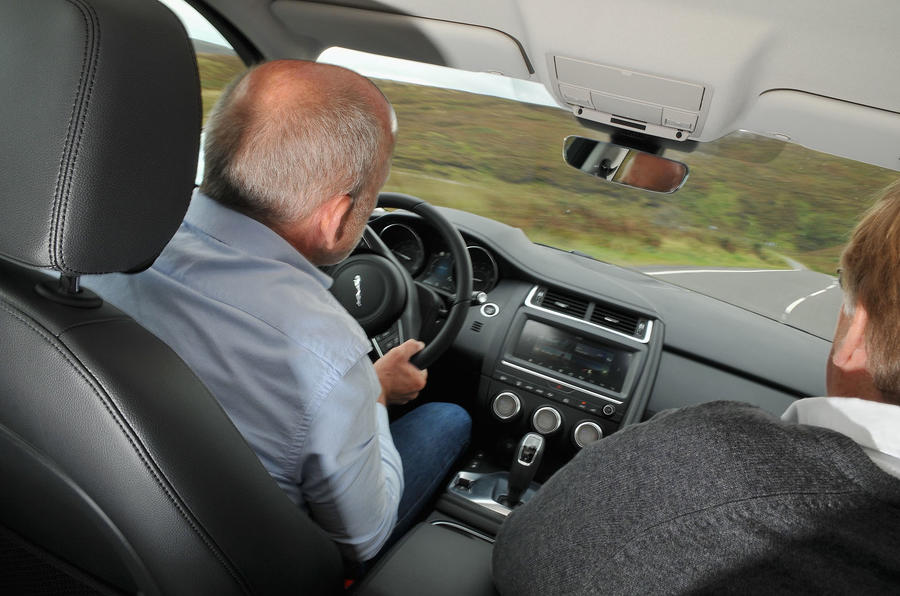 Jaguar Land Rover Cross Country - E-Pace interior
