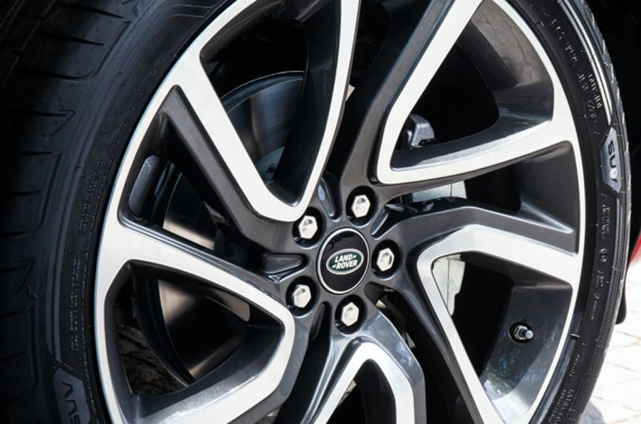 Land Rover Discovery Sport 2019 official reveal - alloy wheels