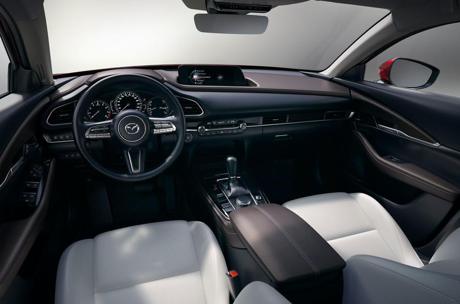 Mazda CX-30 2019 Geneva motor show reveal - cabin