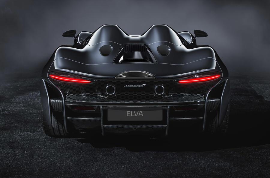 McLaren Elva official reveal - rear end