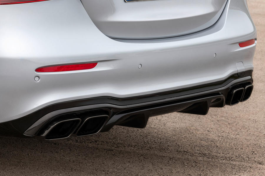 2020 Mercedes-AMG E63 facelift - saloon exhausts