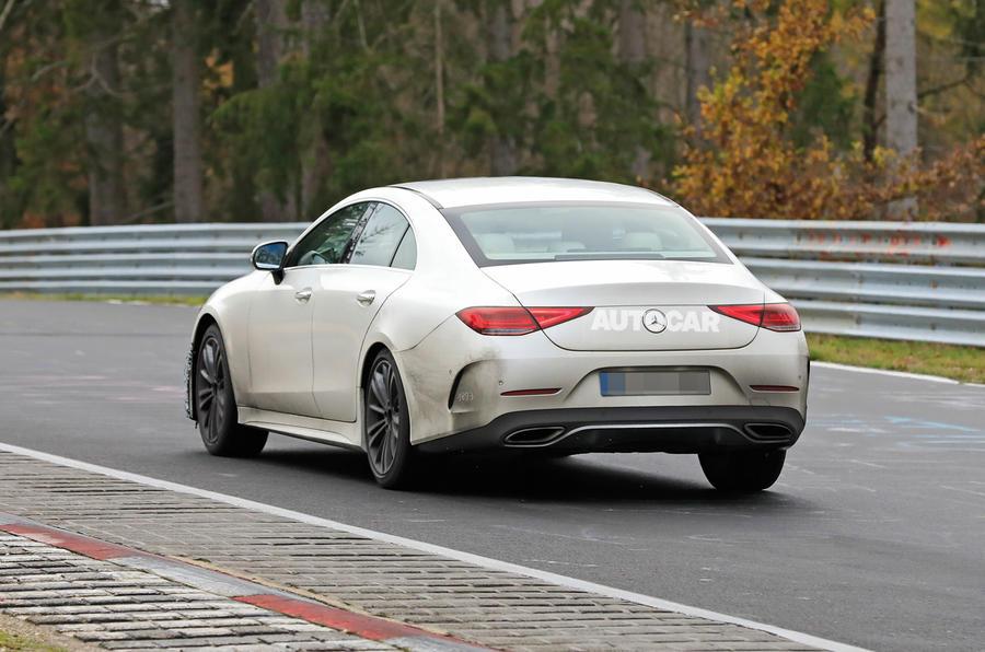 2021 Mercedes-Benz CLS spy photos - rear