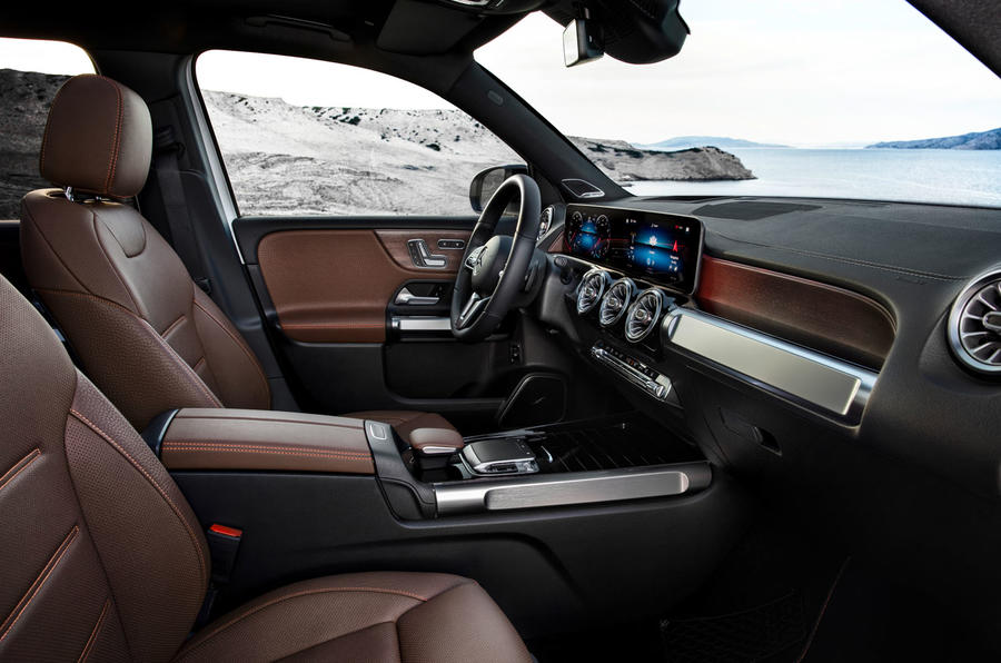 Mercedes-Benz GLB 2019 official reveal - cabin