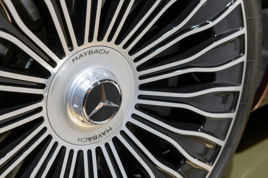 2021 Mercedes-Maybach S-Class official images - alloy wheels
