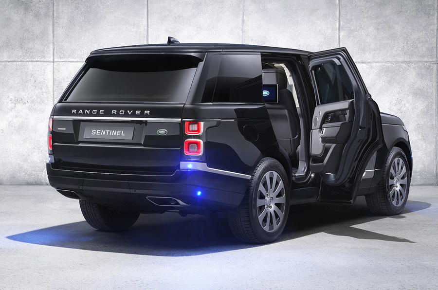 Armoured Range Rover Sentinel Gets 375bhp Supercharged V8