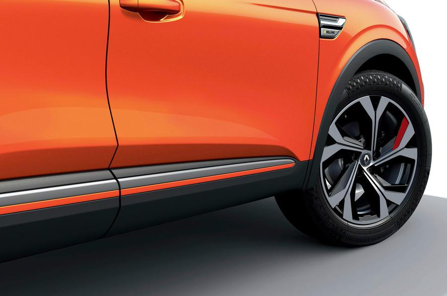 2021 Renault Arkana official European images - side skirts