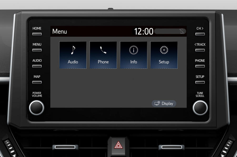 Suzuki Swace official press images - infotainment