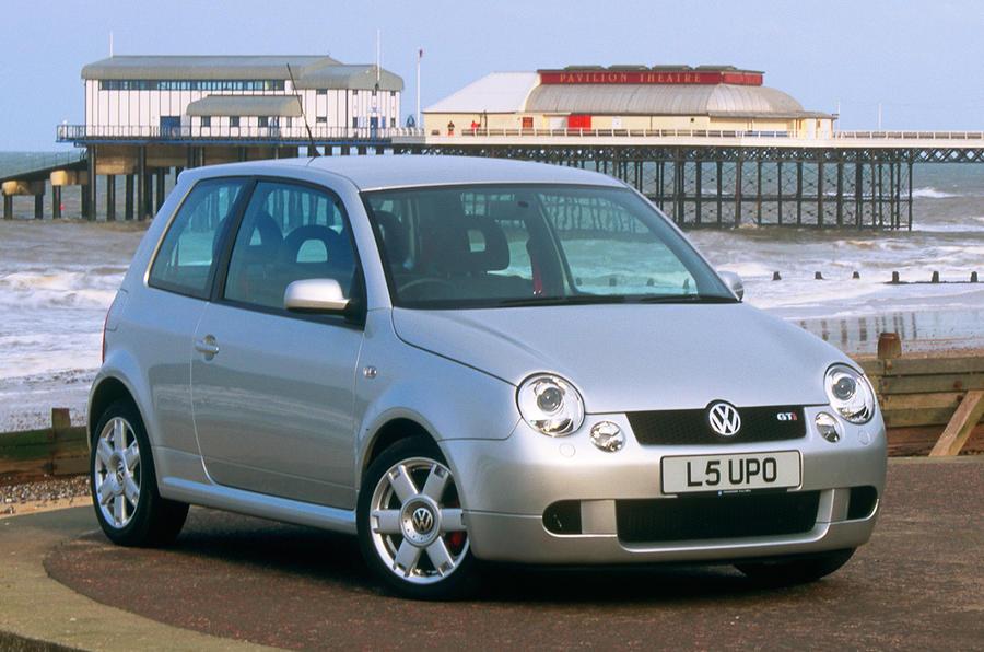 93 hướng dẫn mua đã qua sử dụng VW Lupo GTi tĩnh mặt trước