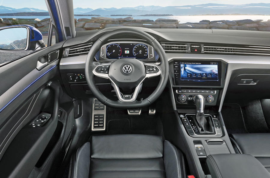 Volkswagen Passat 2019 press - dashboard