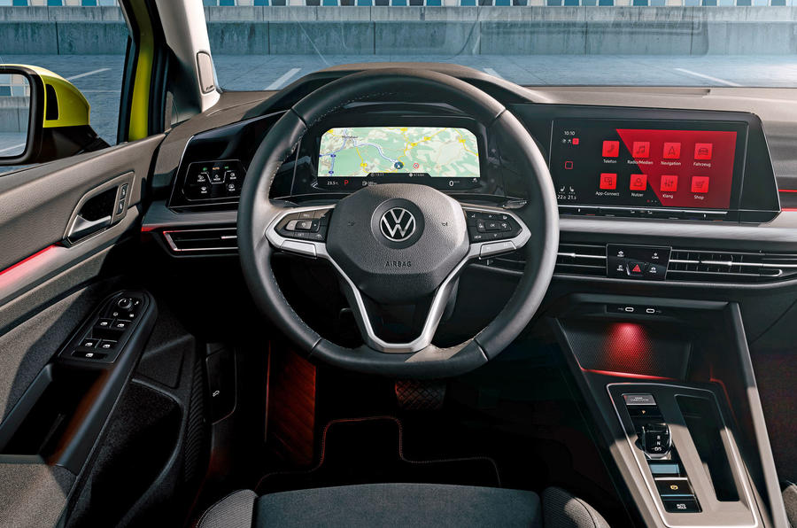2020 Volkswagen Golf Mk8 official press - dashboard