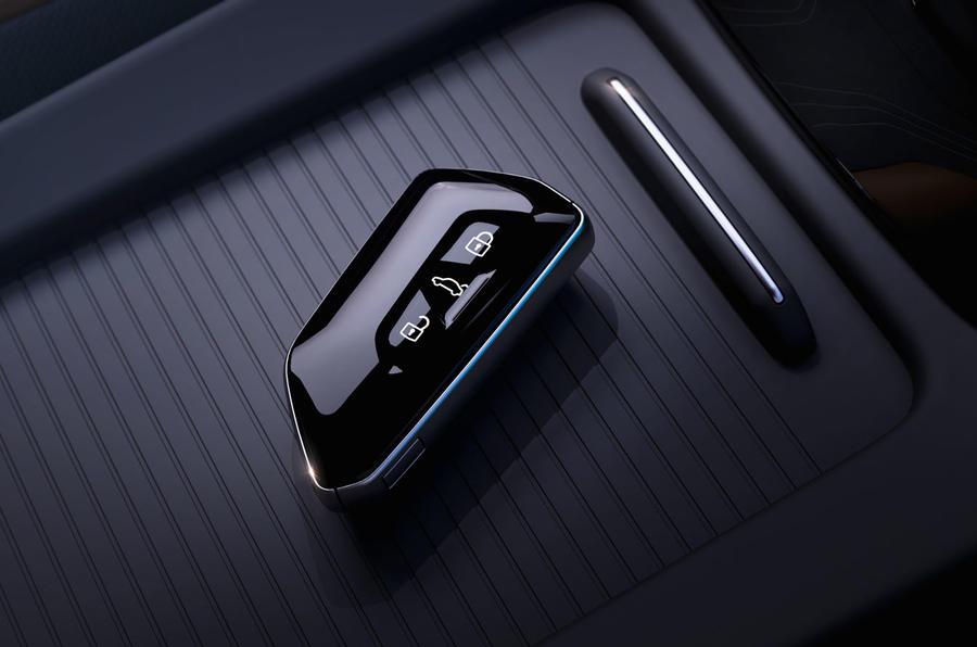 2021 Volkswagen ID 4 prototype drive - key