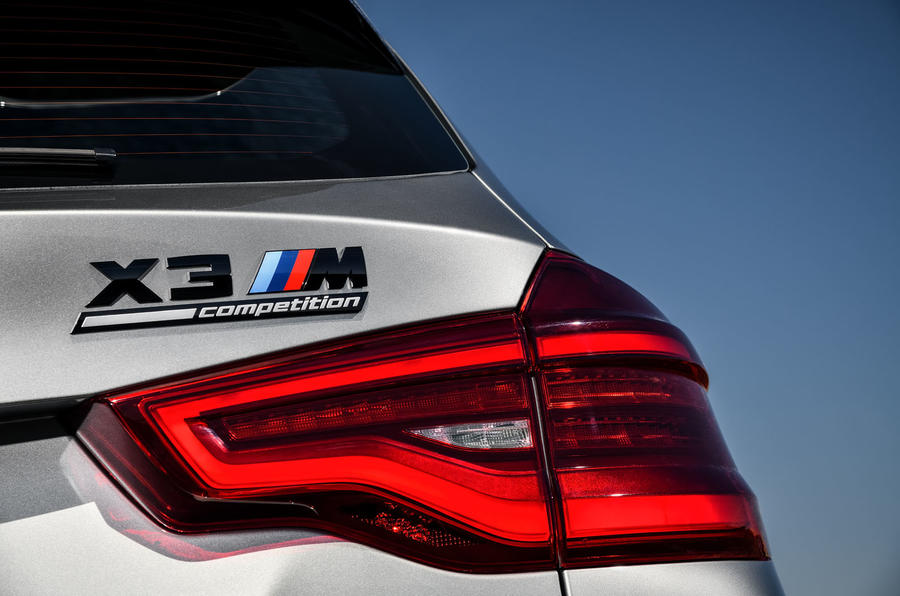 BMW X3M official press - rear lights