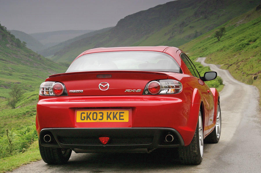 Mazda RX-8 used buying guide - rear