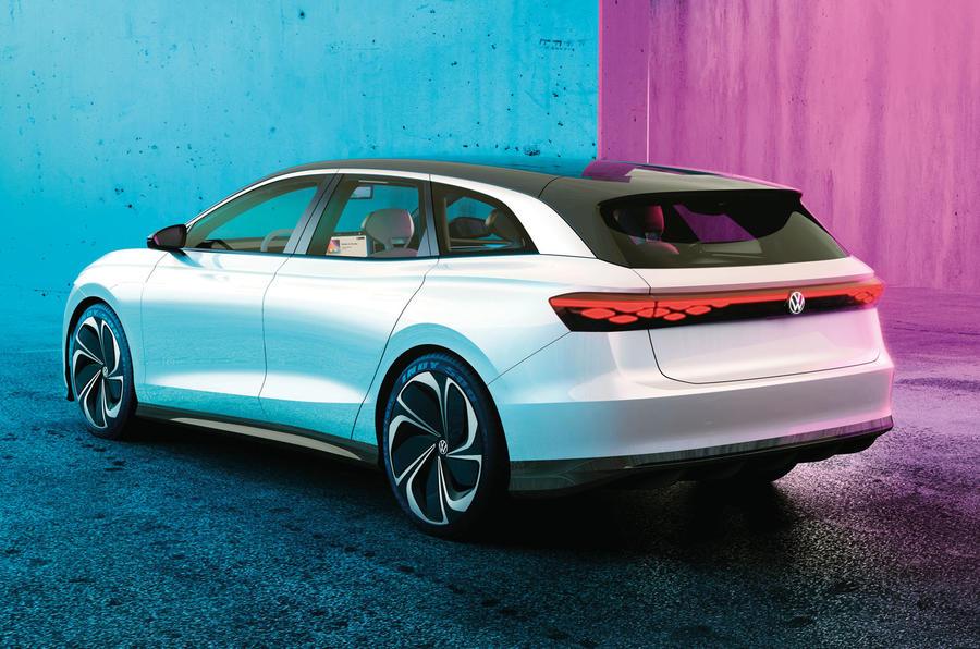 Volkswagen ID Vizzion estate concept - rear