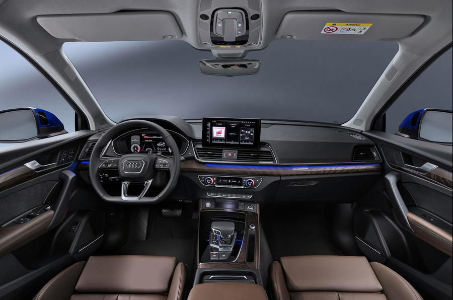 Audi Q5 Sportback 2020 official images - dashboard