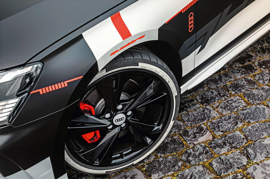 Audi S3 2020 prototype drive - alloy wheels