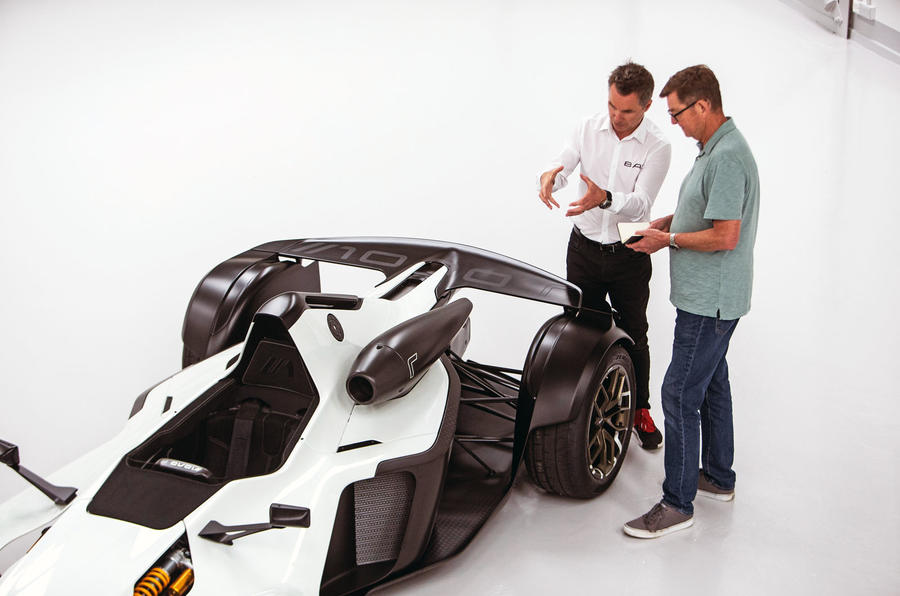 BAC Mono R carbonfibre feature - interview rear wing