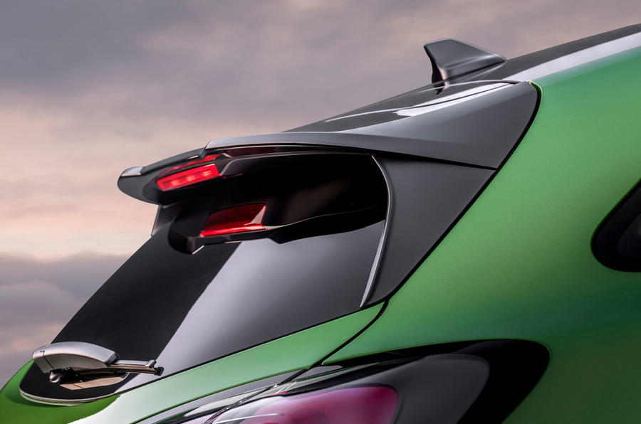 Ford Puma ST official images - spoiler