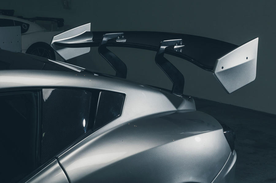 Ginetta supercar reveal exclusive pictures - rear wing