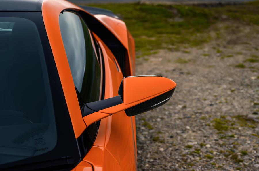 Honda NSX hybrid supercar feature - headlights