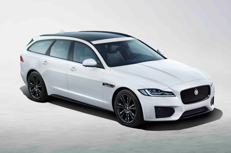 Jaguar XF Chequered Flag Edition Sportbrake