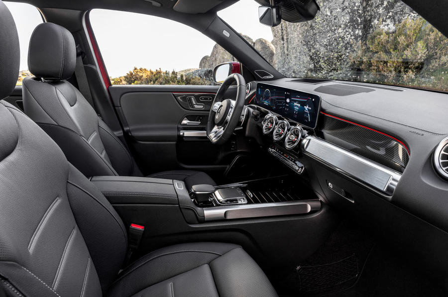 Mercedes-AMG GLB 35 2019 official press images - cabin