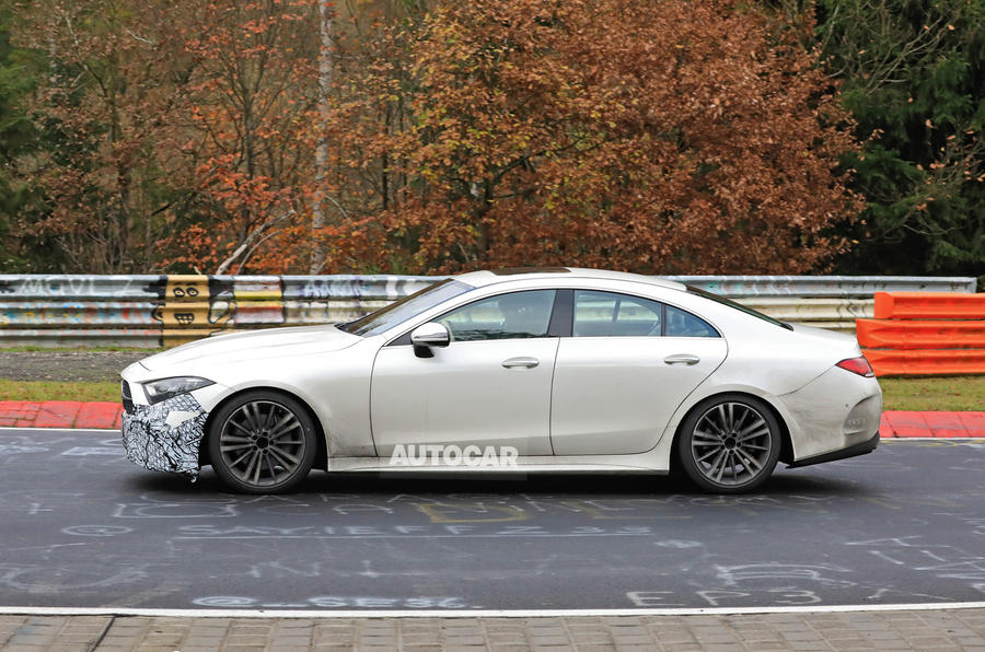 2021 Mercedes-Benz CLS spy photos - side
