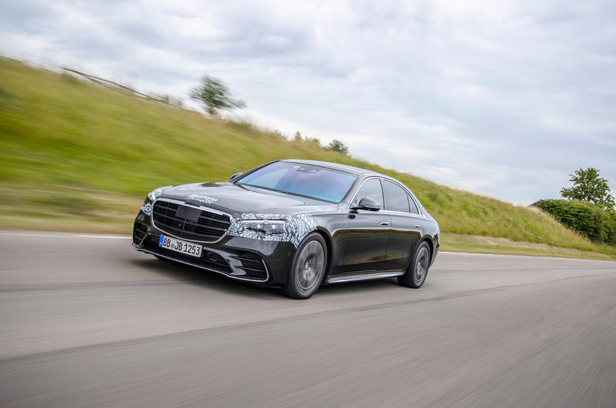 2020 Mercedes-Benz S-Class prototype ride - on the road