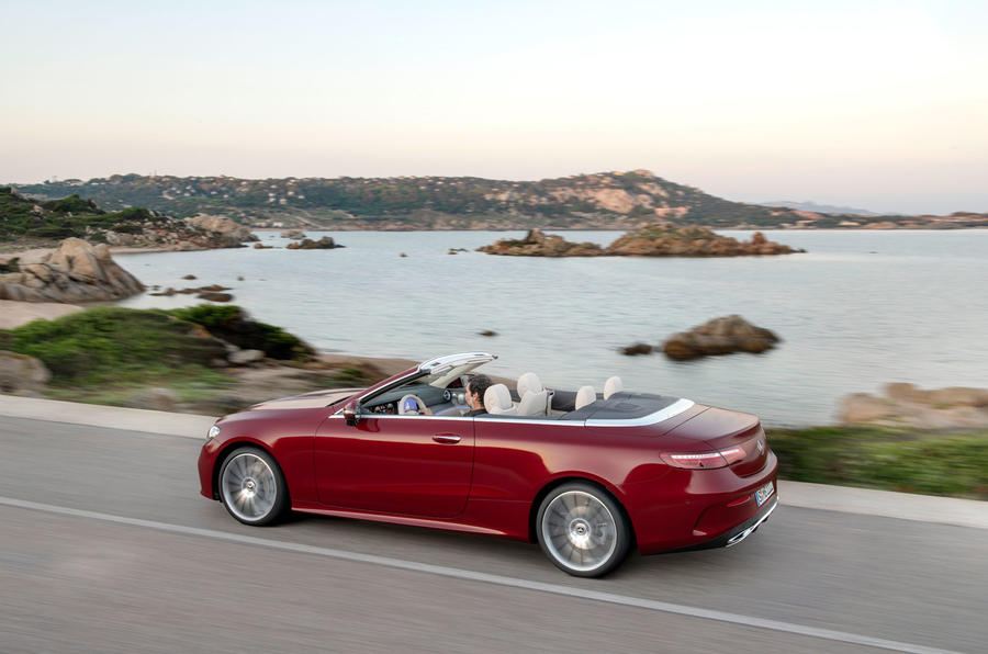 Mercedes-Benz E-Class cabriolet 2020 facelift - official images - rear