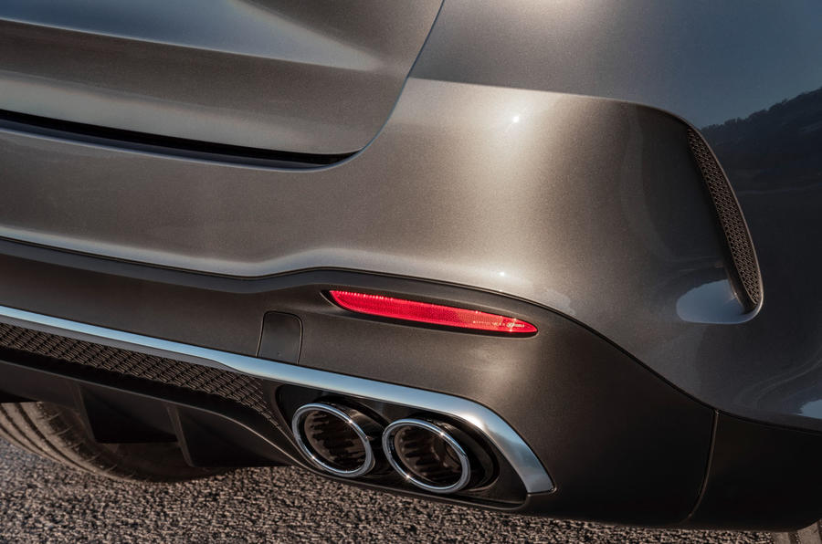 Mercedes-AMG GLE 53 official press reveal - exhausts