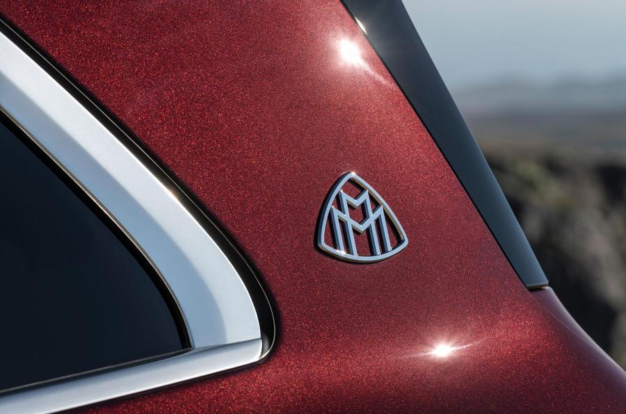 Mercedes-Maybach GLS 600 official press images - quarter panel badge