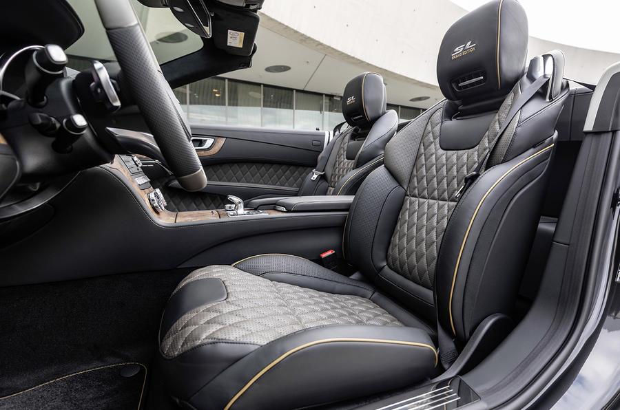 Mercedes SL Grand Edition official press - cabin