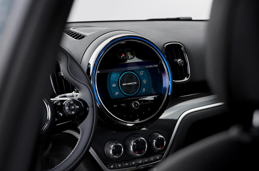 Mini Countryman 2020 facelift - official press images - infotainment