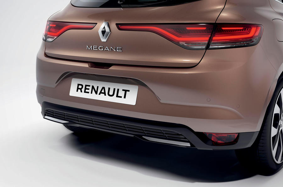 Renault megane 2020 refresh - rear bumper