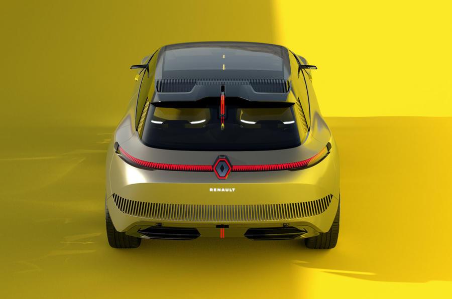 Renault Morphoz concept official studio images - rear end