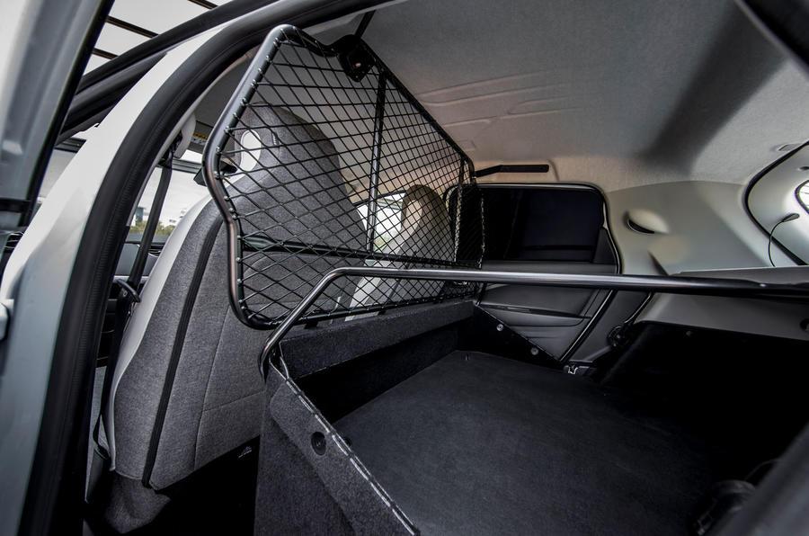Renault Zoe van 2020 official images - rear storage