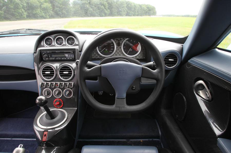 Road test rewind: Noble M600 - interior