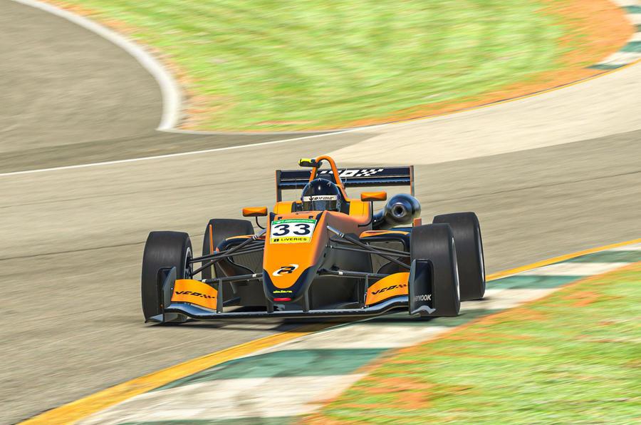VCO proSIM racing series preseason - Verstappen