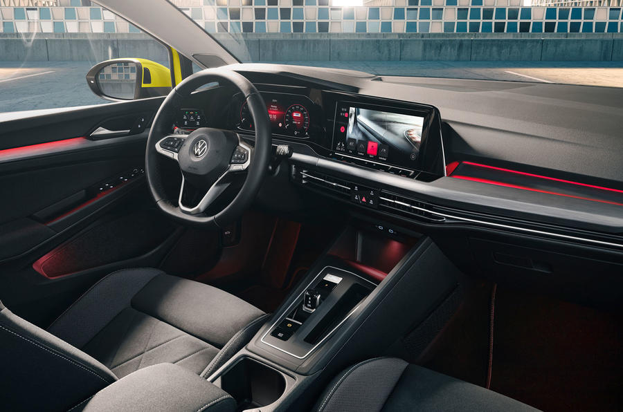 2020 Volkswagen Golf Mk8 official press - cabin